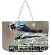 Swallow In The Wind Weekender Tote Bag
