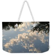 Swallow Reflection Weekender Tote Bag