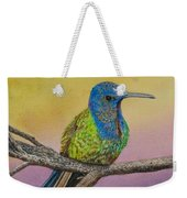 Swallow-tailed Hummingbird Weekender Tote Bag