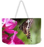 Swallowtail And Azalea - Love Weekender Tote Bag