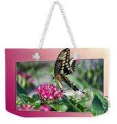 Swallowtail Butterfly 03 Weekender Tote Bag