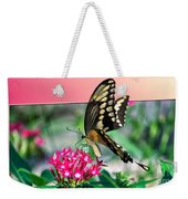 Swallowtail Butterfly 04 Weekender Tote Bag