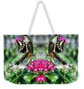 Swallowtail Butterfly Digital Art Weekender Tote Bag