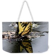 Swallowtail - Butterfly - Reflections Weekender Tote Bag