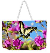 Swallowtail In Flight Weekender Tote Bag