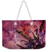Swallowtail In The Butterfly Bush - Featured In The Wildlife And Comfortable Art And Newbies Groups Weekender Tote Bag
