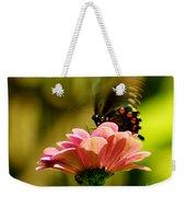 Swallowtail Motion Weekender Tote Bag