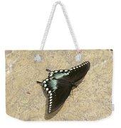 Swallowtail On The Rocks Weekender Tote Bag