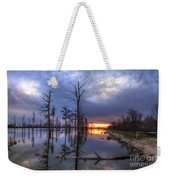 Swamp At Dusk Weekender Tote Bag