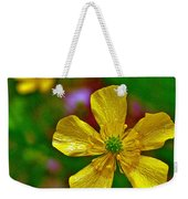 Swamp Buttercup Near Loon Lake In Sleeping Bear Dunes National Lakeshore-michigan  Weekender Tote Bag