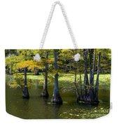 Swamp Color Weekender Tote Bag