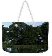 Swamp Cypress Trees Digital Oil Painting Weekender Tote Bag