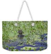 Swamp Gator Weekender Tote Bag