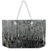 Swamp Greens Weekender Tote Bag