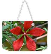 Swamp Hibiscus Weekender Tote Bag