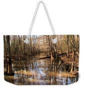 Swamp Reflections Weekender Tote Bag