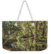 Swamp Reflections Weekender Tote Bag
