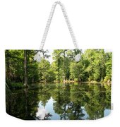 Swampland Reflection At The Plantation Weekender Tote Bag