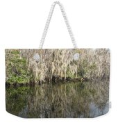 Bold Cypress Reflection Weekender Tote Bag