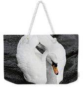 Swan 2 Weekender Tote Bag