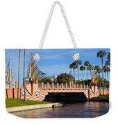 Swan And Dolphin Resort Bridge Weekender Tote Bag