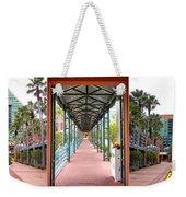 Swan And Dolphin Resort Walt Disney World 3 Panel Composite Weekender Tote Bag