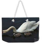 Swan And Signets Weekender Tote Bag