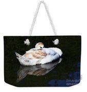 Swan Asleep Weekender Tote Bag