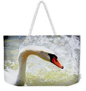 Swan - Beautiful - Elegant Weekender Tote Bag