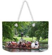 Swan Boat - Boston Weekender Tote Bag