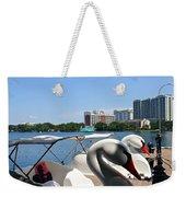 Swan Boats And Buildings Weekender Tote Bag