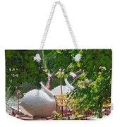 Swan Boats Weekender Tote Bag