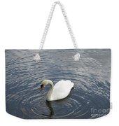 Swan Circles Weekender Tote Bag