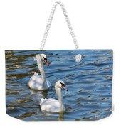 Swan Day Weekender Tote Bag