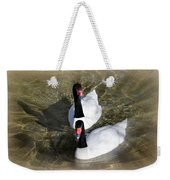 Swan Duo Weekender Tote Bag by Marty Koch