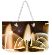 Swan Fountains Weekender Tote Bag