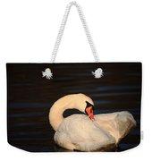 Swan Grooming Weekender Tote Bag