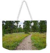 Swan Lake Trail In Grand Teton National Park-wyoming Weekender Tote Bag