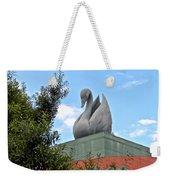 Swan Resort Statue Walt Disney World Weekender Tote Bag