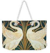 Swan Rush And Iris Weekender Tote Bag
