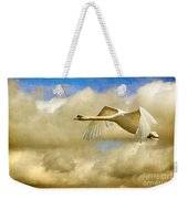 Swan Song Weekender Tote Bag
