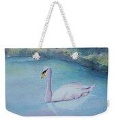 Swan Study Weekender Tote Bag