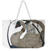 Swan Tavern Sign Yorktown Weekender Tote Bag by Teresa Mucha