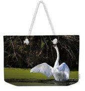 Swan Wings Spread Weekender Tote Bag
