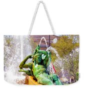 Swann Fountain Gods Weekender Tote Bag
