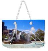Swann Fountain Weekender Tote Bag