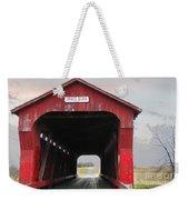 Swartz Covered Bridge Ohio Weekender Tote Bag