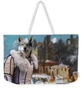 Swedish Elkhound - Jamthund Art Canvas Print  Weekender Tote Bag