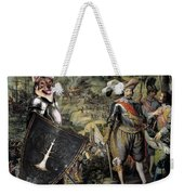 Swedish Vallhund  - Vastgotaspets Art Canvas Print Weekender Tote Bag