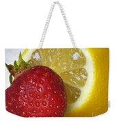 Sweet And Sour Weekender Tote Bag